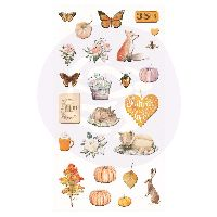 Prima Marketing Autumn Sunset - Puffy Stickers