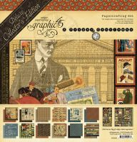 Graphic 45 A Proper Gentleman Deluxe Collector's Edition