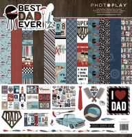 PhotoPlay Best Dad Ever 12x12 Collection Pack