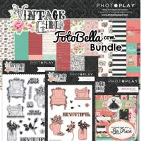 PhotoPlay Vintage Girl Bundle
