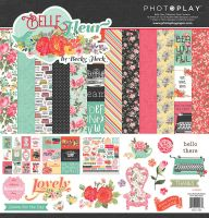 PhotoPlay Belle Fleur 12x12 Collection Pack