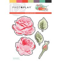 PhotoPlay Belle Fleur Dies Layered Flower