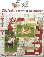 Bo Bunny Bella Rosa I Want It All! 12x12 Collection Bundle