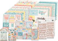Bo Bunny Escape to Paradise I Want It All! 12x12 Collection Bundle