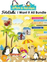 Bo Bunny Make a Splash I Want It All! 12x12 Collection Bundle