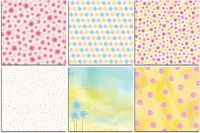 Bo Bunny Summer Mood Bonus 12x12 Paper Bundle