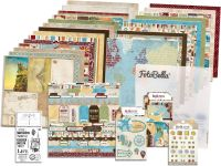 Bo Bunny World Traveler I Want It All! 12x12 Collection Bundle