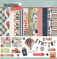 PhotoPlay Boarding Pass 12x12 Collection Pack