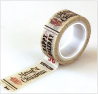 Carta Bella Christmas Time Christmas Words Decorative Tape