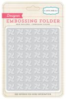 Carta Bella Soak Up the Sun - Embossing Folder - Pinwheels