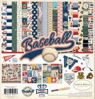 Carta Bella Baseball 12x12 Collection Kit