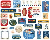 Carta Bella Baseball Ephemera