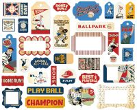 Carta Bella Baseball Frames & Tags