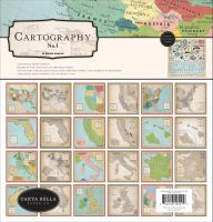 Carta Bella Cartography No. 1 Collection Kit