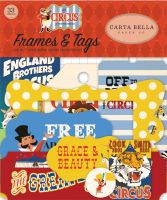 Carta Bella Circus Frames & Tags