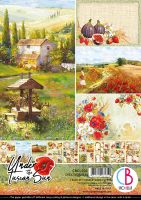 Ciao Bella Under the Tuscan Sun Creative Pad A4 9/Pkg