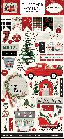 Carta Bella Christmas Market 6x13 Chipboard Accents