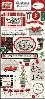 Carta Bella Christmas Market 6x13 Chipboard Phrases