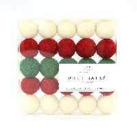 Carta Bella Christmas Felt Ball Multi Pack