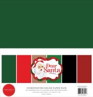 Carta Bella Dear Santa 12x12 Solids Kit