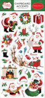 Carta Bella Dear Santa 6x13 Chipboard Accents