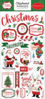 Carta Bella Dear Santa 6x13 Chipboard Phrases