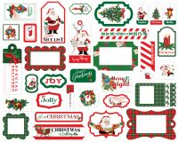 Carta Bella Dear Santa Frames & Tags