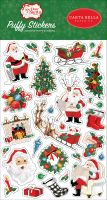 Carta Bella Dear Santa Puffy Stickers