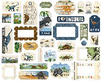 Carta Bella Dinosaurs Frames & Tags
