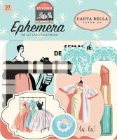 Carta Bella En Vogue Ephemera