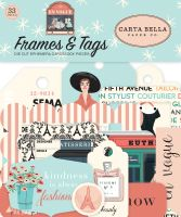 Carta Bella En Vogue Frames & Tags