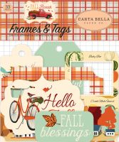 Carta Bella Fall Break Frames & Tags