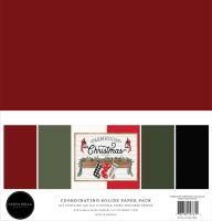 Carta Bella Farmhouse Christmas Solids Kit