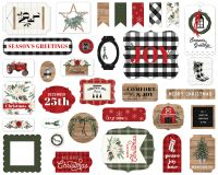 Carta Bella Farmhouse Christmas Ephemera