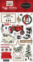Carta Bella Farmhouse Christmas Puffy Stickers