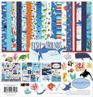 Carta Bella Fish Are Friends 12x12 Collection Kit