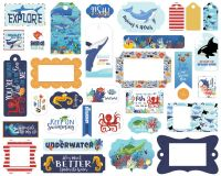 Carta Bella Fish Are Friends Frames & Tags