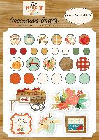 Carta Bella Fall Market Decorative Brads