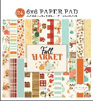 Carta Bella Fall Market 6x6 Paper Pad