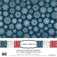 Carta Bella Let it Snow Foil Collection Kit