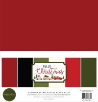 Carta Bella Hello Christmas Solids Kit