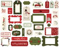 Carta Bella Hello Christmas Frames & Tags