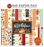 Carta Bella Hello Autumn 6x6 Paper Pad
