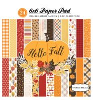 Carta Bella Hello Fall 6x6 Paper Pad