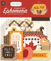 Carta Bella Hello Fall Frames & Tags Ephemera