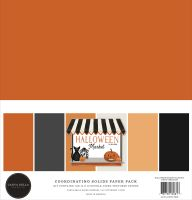 Carta Bella Halloween Market Solids Kit