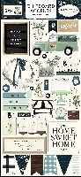 Carta Bella Home Again 6x13 Chipboard Accents