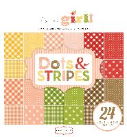 Carta Bella It's a Girl 6x6 Dots & Stripes