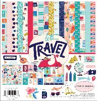 Carta Bella Let's Travel 12x12 Collection Kit