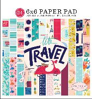 Carta Bella Let's Travel 6x6 Paper Pad